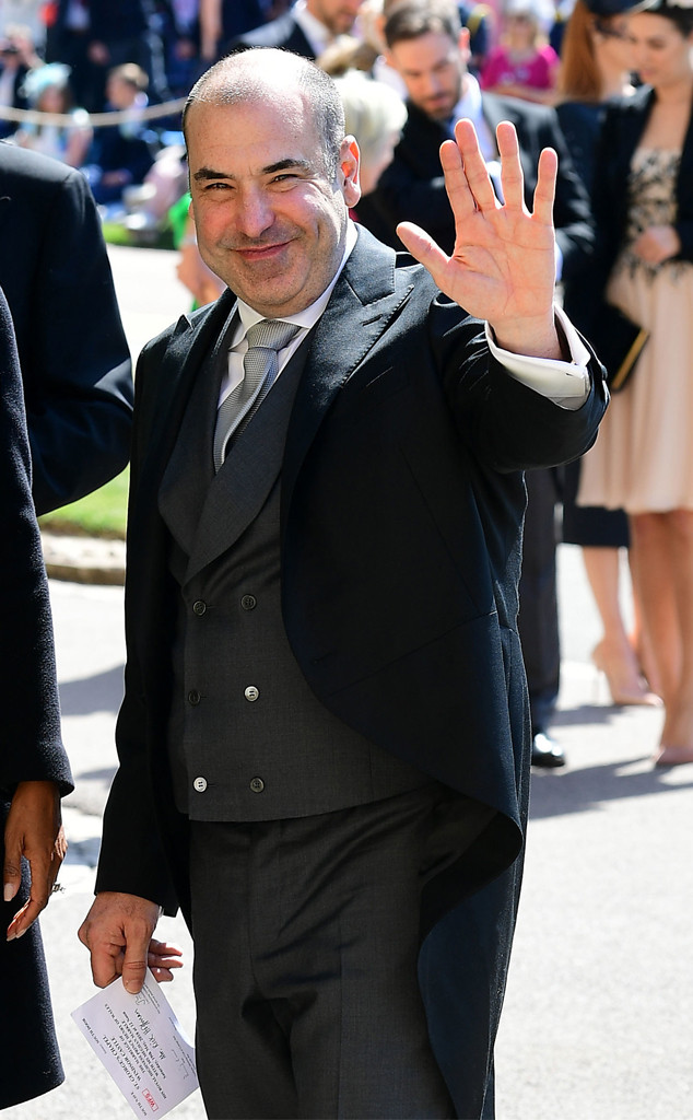 Rick Hoffman, Royal Wedding Arrivals